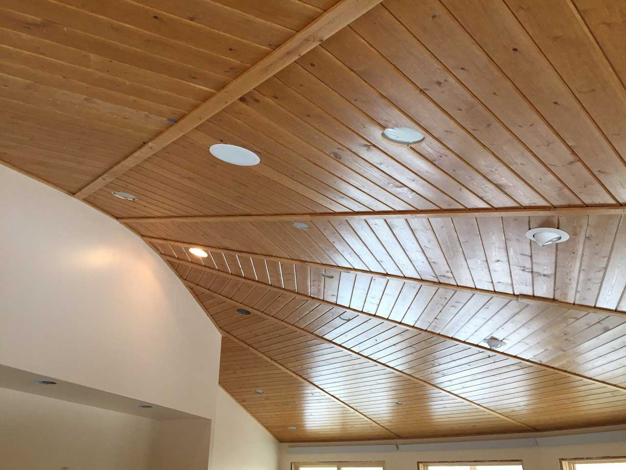 Tongue Groove Ceiling Deltec Homes