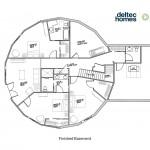 Deltec Homes floor plan