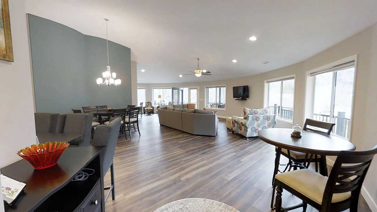 Open Floor Plan Designed for Family