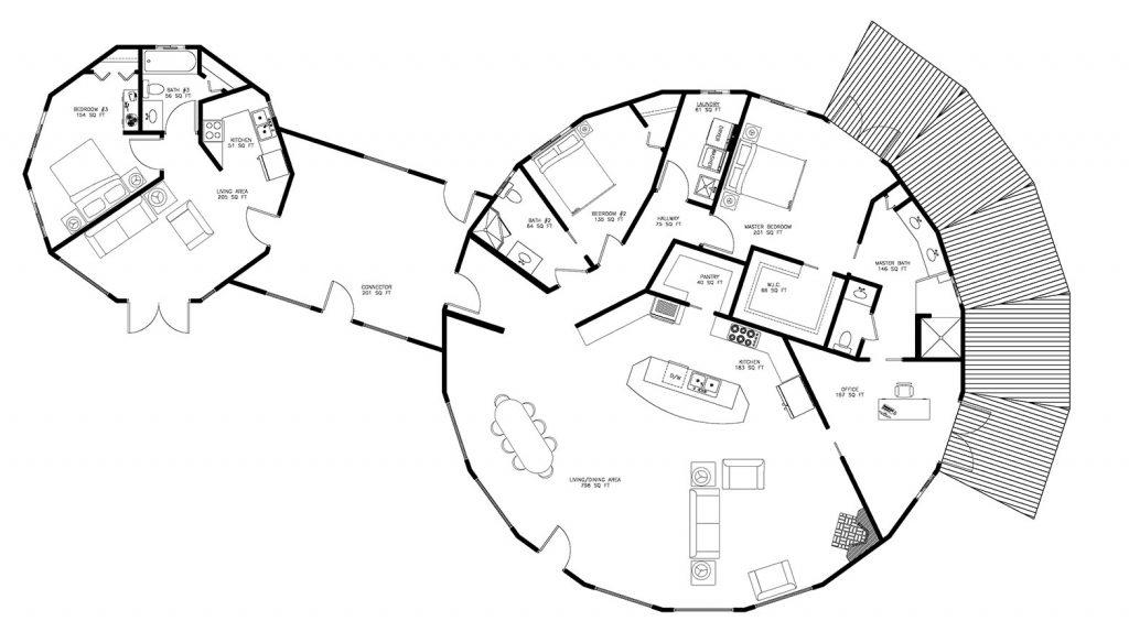 multigenerational floor plan