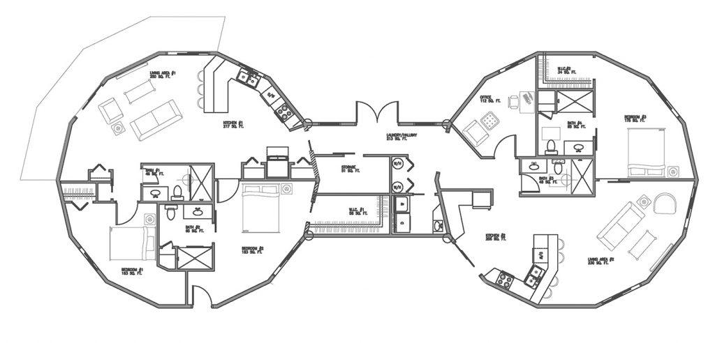 multigenerational home floor plan