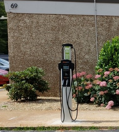 New EV Chargers at Deltec Homes