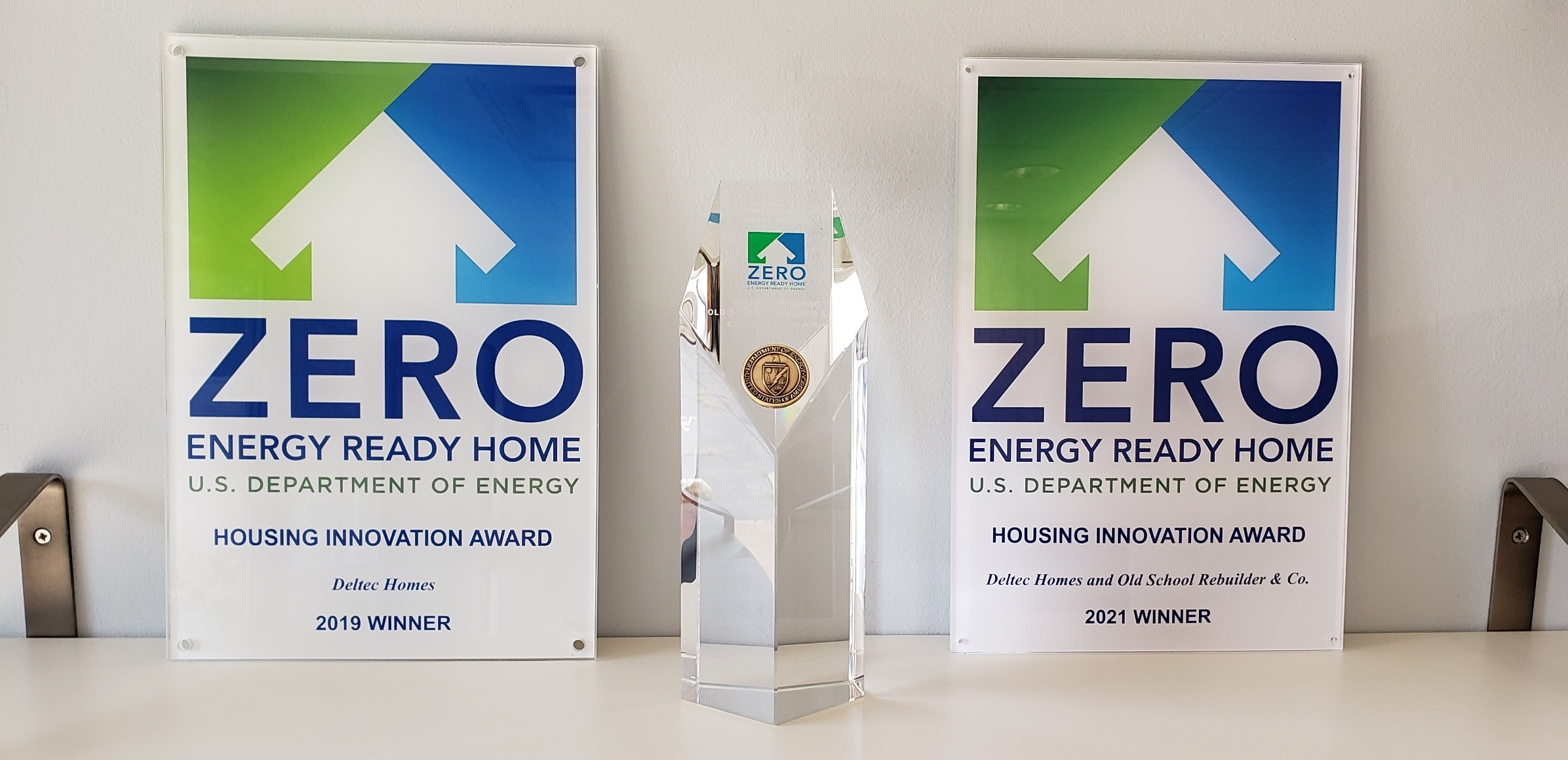Deltec Project Wins Grand Award in US Department of Energy Housing Innovation Awards